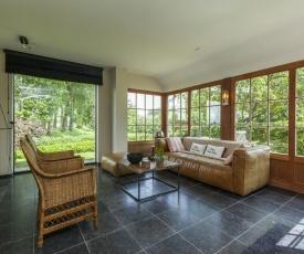 Luxurious Mansion in Sint-Laureins near Forest